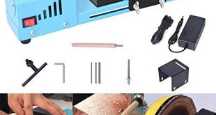 S SMAUTOP DC 24 V 150 Watt Mini Drehmaschine Perlen 310x165 - S SMAUTOP DC 24 V 150 Watt Mini Drehmaschine Perlen Polierer Maschine CNC Bearbeitung für Tisch Holzbearbeitung Holz DIY Werkzeug Drehmaschine Standard Set