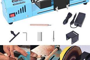 S SMAUTOP DC 24 V 150 Watt Mini Drehmaschine Perlen 310x205 - S SMAUTOP DC 24 V 150 Watt Mini Drehmaschine Perlen Polierer Maschine CNC Bearbeitung für Tisch Holzbearbeitung Holz DIY Werkzeug Drehmaschine Standard Set