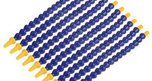 Fdit 10 Stuecke Universal Flexible Kunststoff Wasser Oel Einstellbare Kuehlmittelrohr 310x165 - Fdit 10 Stücke Universal Flexible Kunststoff Wasser Öl Einstellbare Kühlmittelrohr 1 / 8BSPT Gewindeschlauch für Drehmaschine CNC Maschine MEHRWEG VERPACKUNG socialme-eu