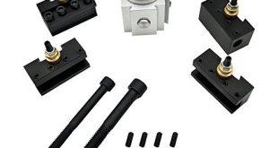 KKmoon Mini CNC Werkzeug Schnellwechselsystem Werkzeughalterung der Drehung Post Cutter 310x165 - KKmoon Mini CNC Werkzeug Schnellwechselsystem, Werkzeughalterung der Drehung, Post Cutter, Halte-Set für Schrauben, Set Bohrstange, Schlüsselhalterung